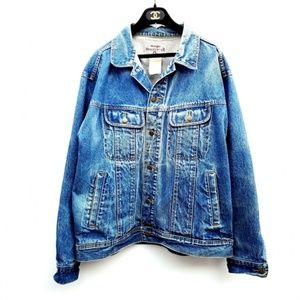 Vintage Wrangler Oversized Jean Jacket